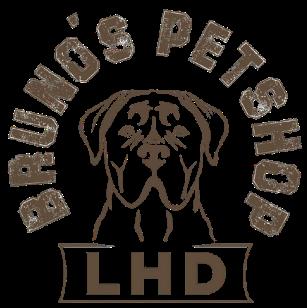 Bruno Petshop Logo Hundekopf